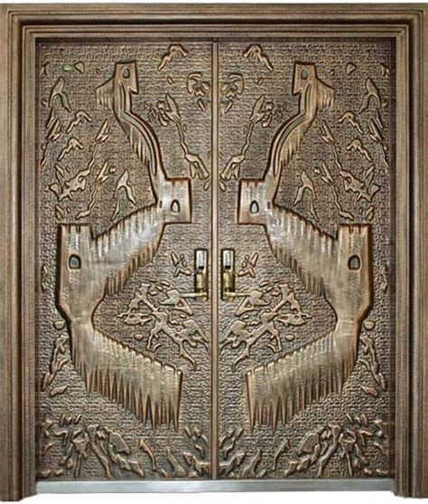 copper front doors luxury copper carved security front door in songyang