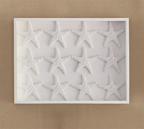 pottery barn starfish rug starfish shadow box pottery barn