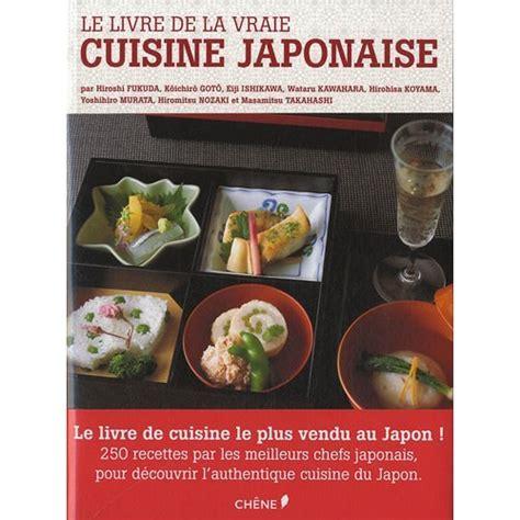 livre de cuisine norbert le livre de la vraie cuisine japonaise olavia