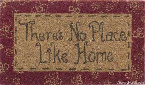 Theres No Place Like 127001 Door Mat For It Geeks by There S No Place Like Home Door Mat