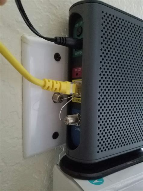 Modem Kabel when you bought a cable modem but dont a coax cable
