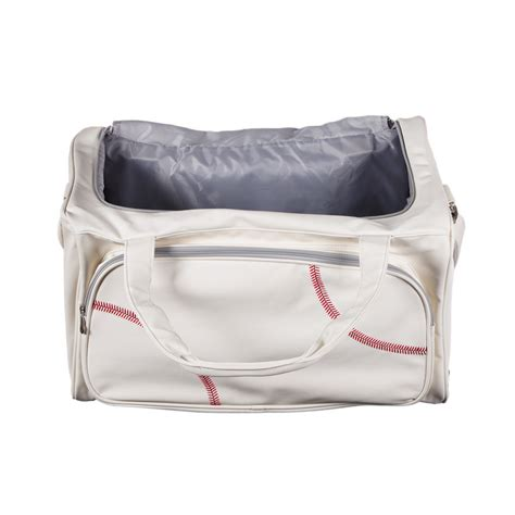 sports bag with separate shoe compartment sport size duffel bag actual baseball leather
