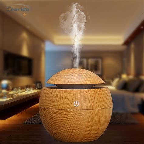 mini usb aroma essential oil diffuser ultrasonic cool mist humidifier difusor air purifier