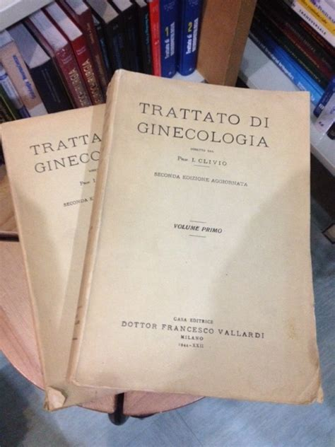 libreria medica torino innocente clivio trattato di ginecologia 2a edizione