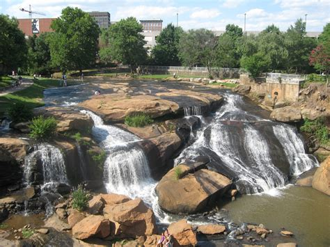 Family Activities At Falls Park In Greenville Sc The Greenville Guide