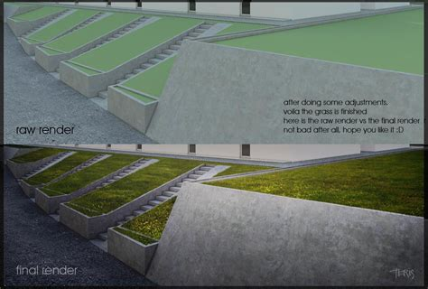 sketchup vray grass rendering tutorial how to make grass with photoshop sketchup tutorial and tips