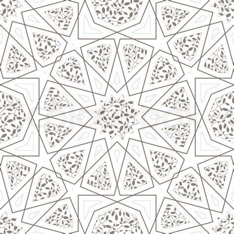 pattern vector islamic classic islamic seamless pattern vector illustration
