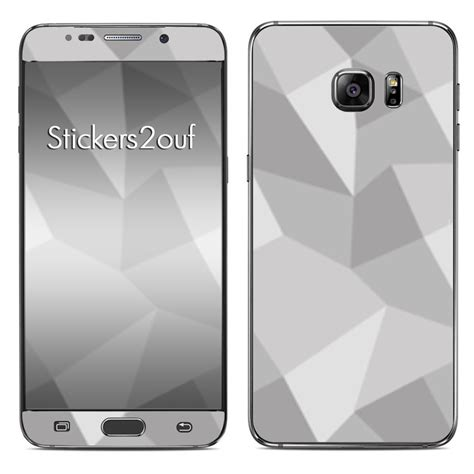 Pattern 6 Samsung Galaxy S6 skin grey pattern galaxy s6 samsung