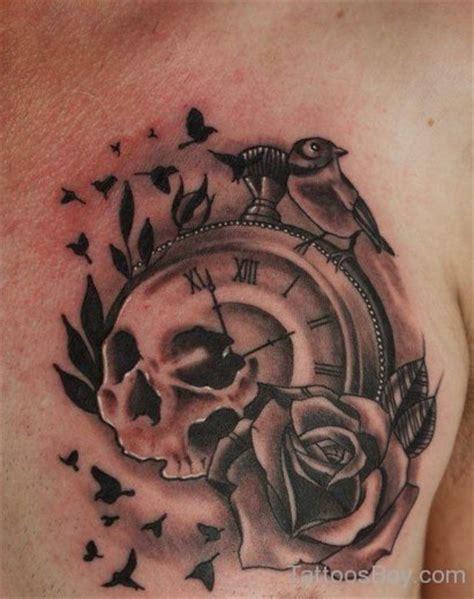 tattoo chest clock clock tattoos tattoo designs tattoo pictures page 3