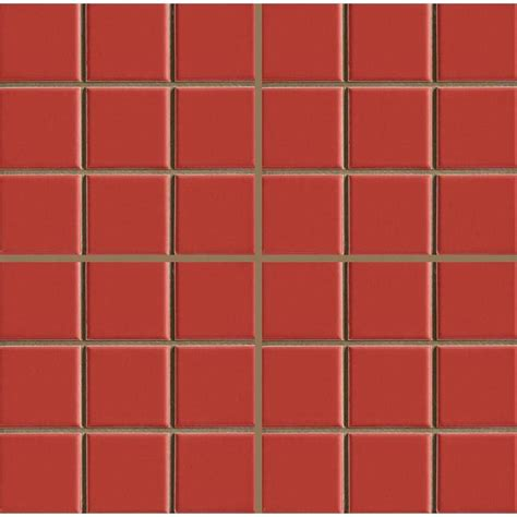azulejo quadriculado azulejo duragres decor quadriculado vermelho 20 x 20 cm