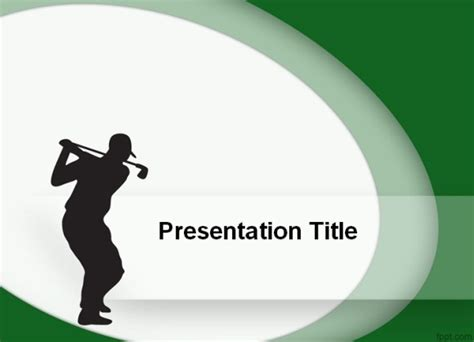 Best Sports Powerpoint Templates Powerpoint Presentation Golf Powerpoint Template