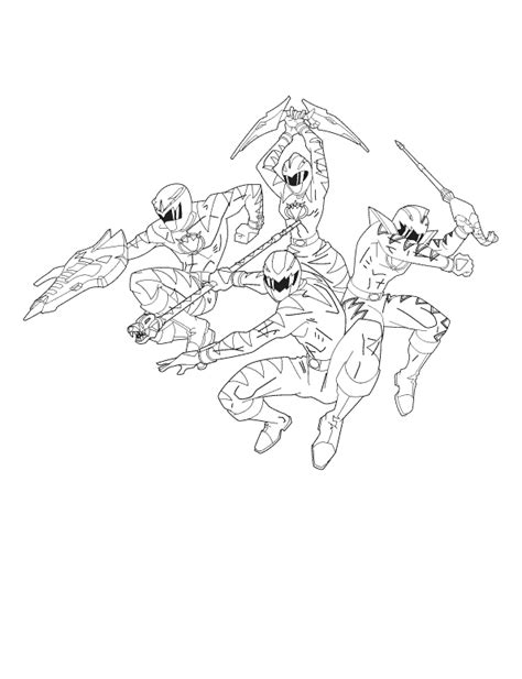 power rangers dino thunder printable coloring pages four power rangers dino thunder coloring pages baby