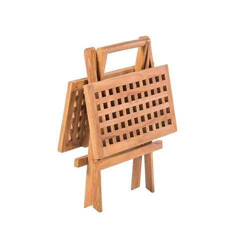 kleine tafel kleine tafel teak 50 x 50 woodexpert woodexpert
