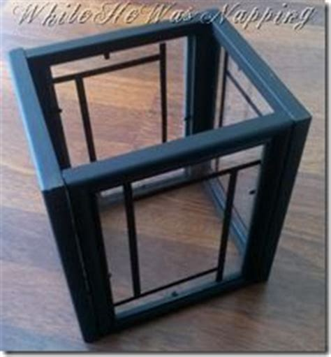 easy diy mirror frame and lowes light fixture decorating frames on pinterest chevron frames diy picture frame