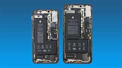 iphone xs xs max ifixit teardown reveals an battery setup gizbot news