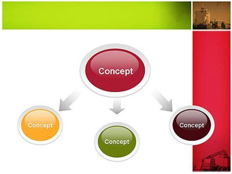 logistics powerpoint template poweredtemplate com 3 logistics presentation powerpoint template backgrounds