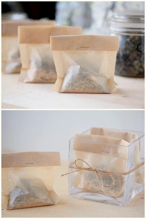 how to use tea bags how to make bath time tea bags