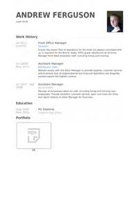 front office manager resume sles visualcv resume