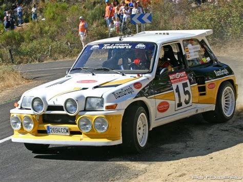 Renault 5 Turbo Rally Car Sport Rally Car