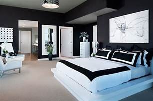 Black And White Bedroom Design Ideas Purple And White Bedroom Home Designer
