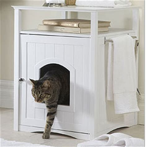 keeping litter box in bedroom enclosed dog bed cat litter box