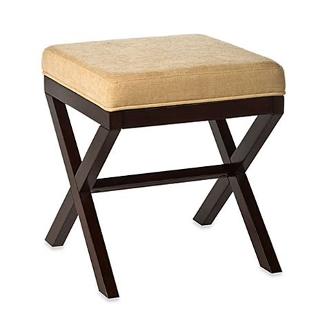 bed bath and beyond vanity stool buy hillsdale morgan quot x quot backless vanity stool from bed