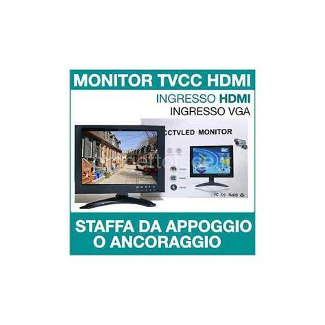 monitor con ingresso bnc monitor hd 8 quot pollici lcd led per videosorveglianza