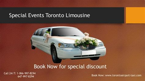 limousine to airport toronto limousine to airport
