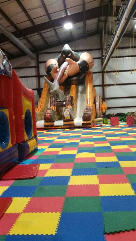 indoor bouncy house crazy bounce