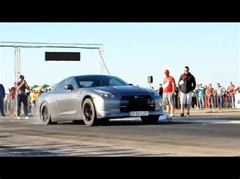 nissan gtr   hp drag racing youtube