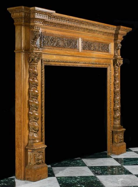 antique italian renaissance style carved oak antique