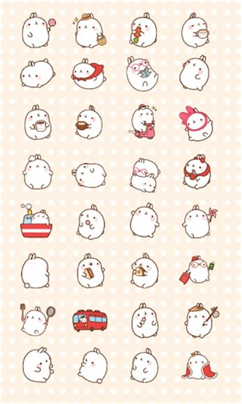 download theme cute for android free download cuki theme cute bunny molang for android appszoom