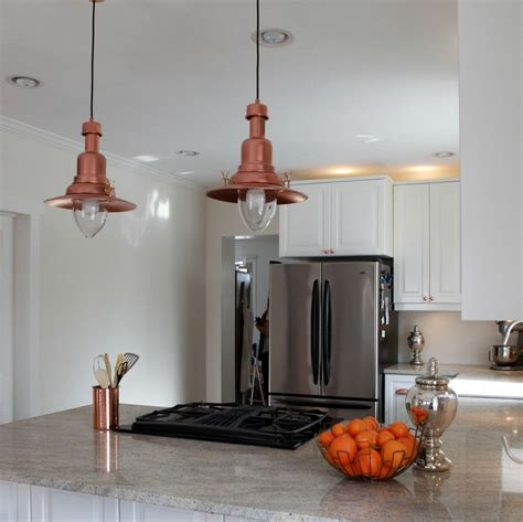 Ikea Lighting Fixture Ikea Hack How To Turn An Ottava 30 00 Light Into A Copper Barn Pendant Light By Getting