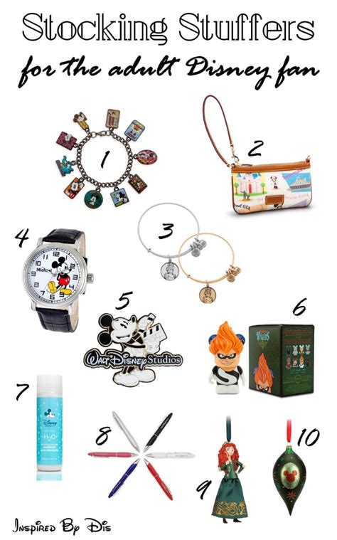 stuffers for adults disney stuffer gifts for adults inspired by dis