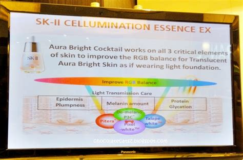 Sk Ii Whitening Series chocolate cats sk ii cellumination essence ex and