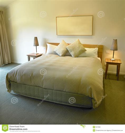 Bed Comforta King Size king size bed stock image image of light house modern