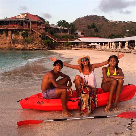 fotos de la familia de lili estefan lili estefan de vacaciones en el caribe con su familia