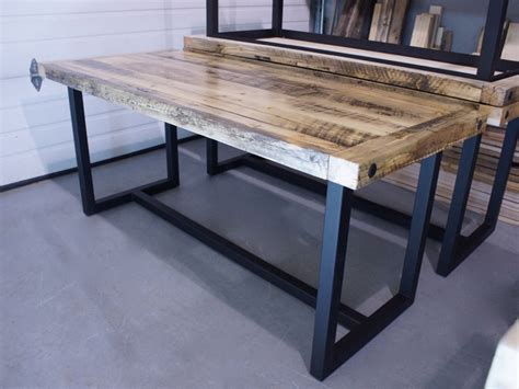 wood and iron desk iron desk desk design ideas