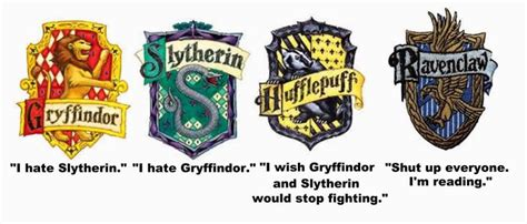 4 hogwarts houses yeah i m definitely the ravenclaw with a little