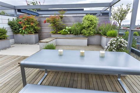 bedachung terrasse roof terrace design penthouse apartment king s cross
