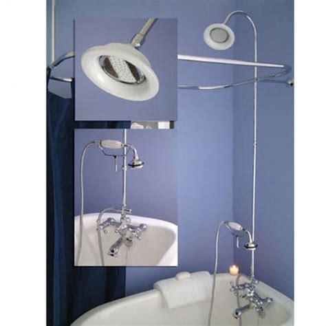 clawfoot tub shower attachment bathtub designs