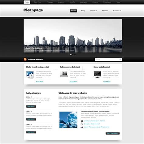 wordpress themes free html blackwhite wordpress theme wp corporate wordpress