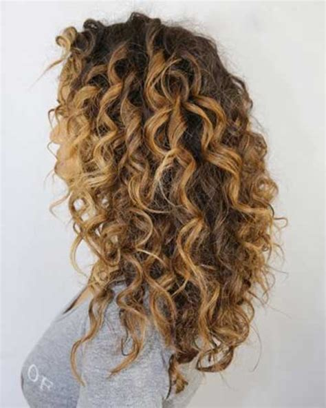curly hairstyles blonde highlights 25 new hair styles for curly hair long hairstyles 2016