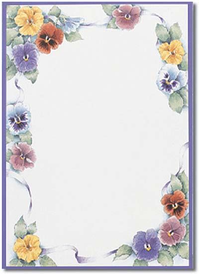 printable paper with flower border flower border stationery paper designs perfect papers