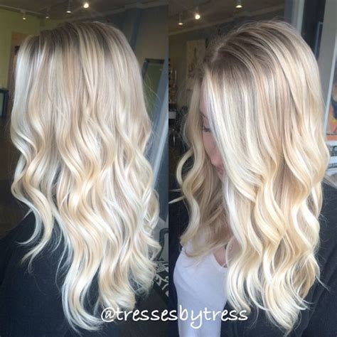super long platinum blonde ombre hair pinterest the world s catalog of ideas