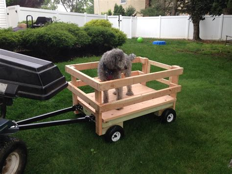 ana white wagon  riding mower diy projects