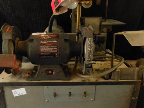 dayton 8 bench grinder craftsman 8 in 1 h p bench grinder power wire brush
