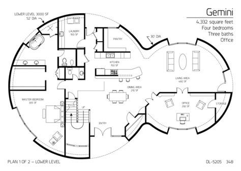 multi level floor plans floor plans multi level dome home designs monolithic