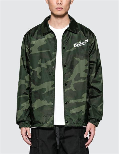 Carhartts Coach Jacket lyst carhartt wip carhartts coach jacket in green for