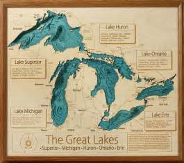 Michigan Great Lakes Map by Great Lakes Map Submited Images